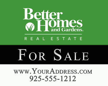 Lawn Yard Sign for Realty