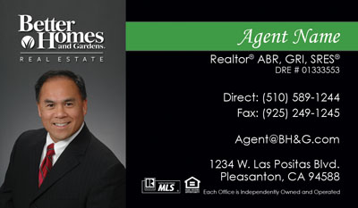real estate agent cards