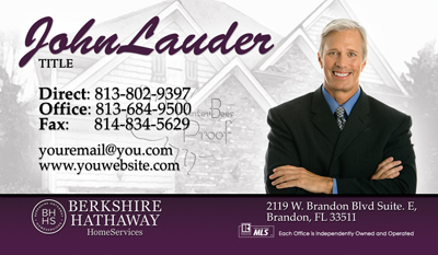 best new business card design for realtors