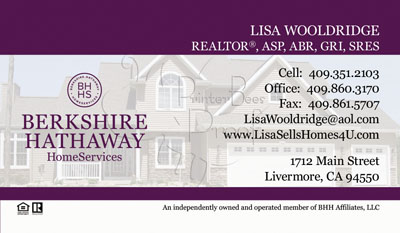 Berkshire Hathawy Business Cards