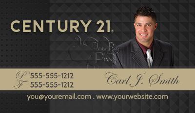 Century 21 Business Cards $69 99 professionally designed