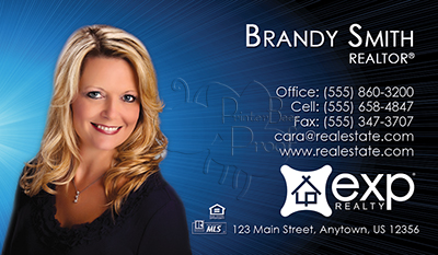 Exp Realty Business Cards 69 99 Professionally Designed And Delivered 35 Templates No