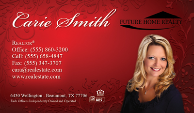 Future Home Realty Card Template 1