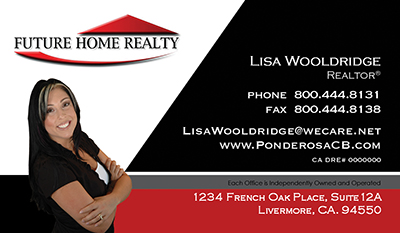 Future Home Realty Card Template 5