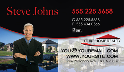Future home realty business cards 6999 professionally designed keller williams best business cards with headshot reheart