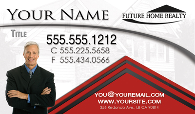 Future Home Realty Card Template 13