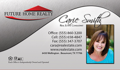 Future home realty business cards 6999 professionally designed future home realty card templates accmission Images