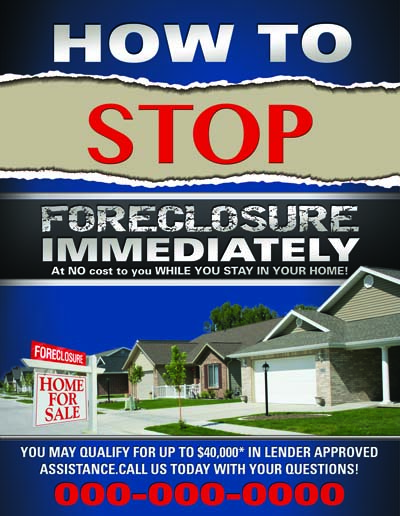 Short Sale Flyers Foreclosure Flyers Real Estate Flyers