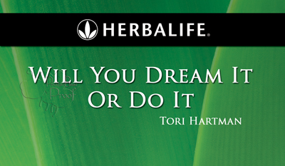 Herbalife business cards with headshot for health coach
