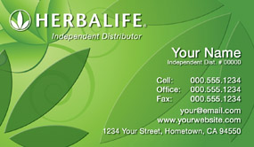 Herbalife business cards free shipping and design no additional herbalife business card template 21 wajeb Choice Image