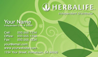 Herbalife Business Card Template 22