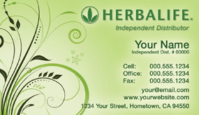Herbalife business cards free shipping and design no additional herbalife business card template 23 wajeb Choice Image