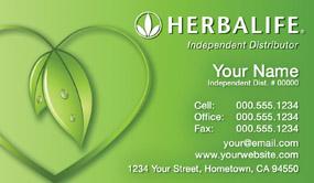 herbalife business cards 1000 herbalife business card. Black Bedroom Furniture Sets. Home Design Ideas