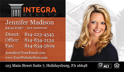 Integra Realty Business Cards