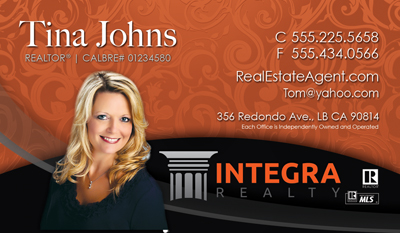Integra Realty Business Card Designs