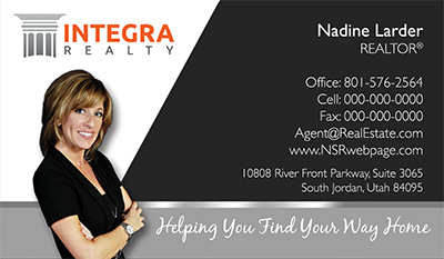 Integra Realty  Business Card Template 4