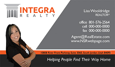 Integra Realty  Business Card Template 5