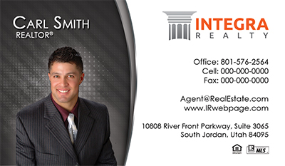 Integra Realty  business card headshot