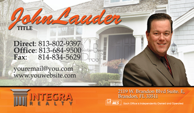 Best Integra Realty business cards