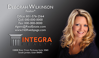 Integra Realty  Business Card Template 7