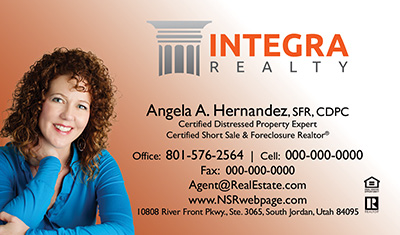 Integra Realty  Business Card Template 8