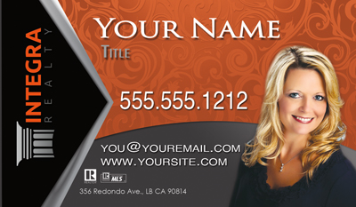Integra Realty  Business Card Template 10