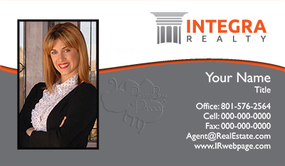 Integra Realty  Business Card Template 13