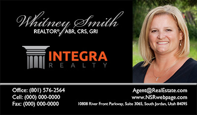 Integra Realty  Business Card Template 15