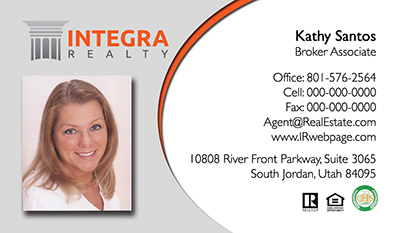 Integra Realty  Business Card Template 17