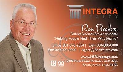 Integra Realty  Business Card Template 18
