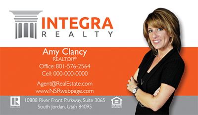 Integra Realty  Business Card Template 19