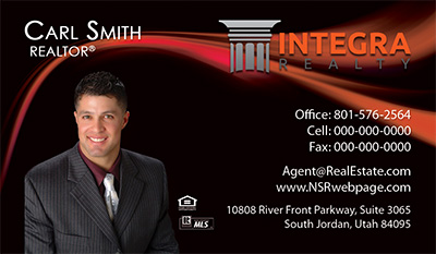 Integra Realty  Business Card Template 20