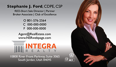Integra Realty  Business Card Template 21