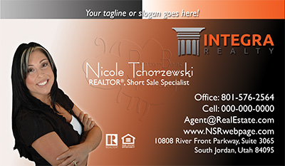 Integra Realty  Business Card Template 23