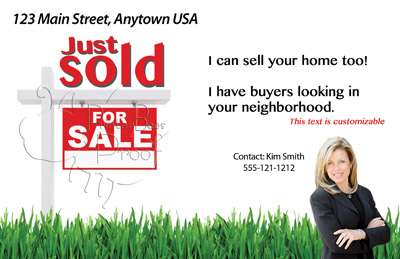 Just Listed/Just Sold Postcards - All Real Estate Marketing Needs