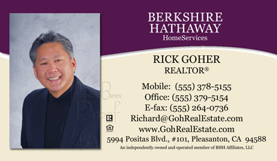 Berkshire business cards 6999 professionally designed and berkshire hathaway business card printing reheart