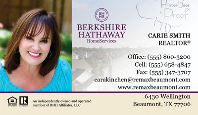 Business Card printing for realtors