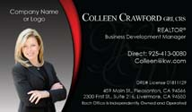 keller williams business card samples