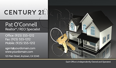 Century 21 Business Card Template 4