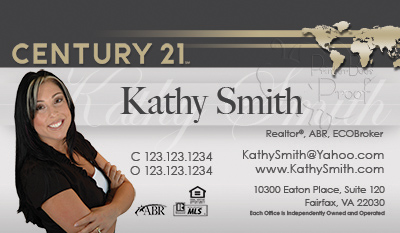 Century 21 business cards 6999 professionally designed for Designation on business cards
