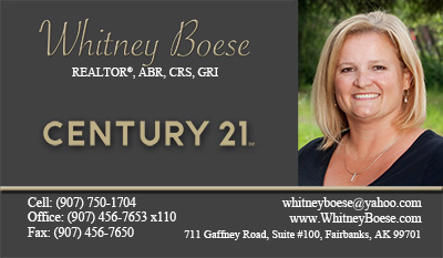 Century 21 business cards new logo