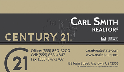 Century 21 Business Card Template 20