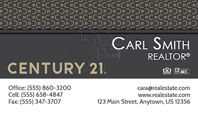 Century 21 Business Card Template 27