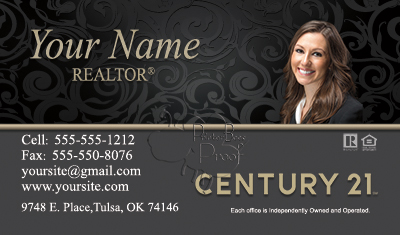 Century 21 business cards 6999 professionally designed for Century 21 business cards template
