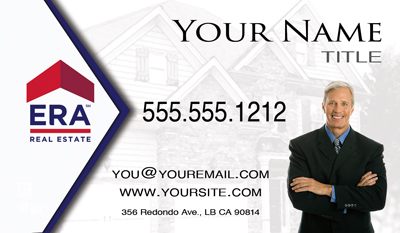 New ERA logo real estate business card