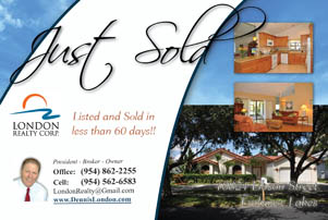 Short Sale - Foreclosure - Just Sold - Just Listed Postcards as ...