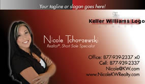Keller Williams business card templates