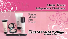 Mary Kay Business Cards Herbalife Business Card - Mary kay business cards templates free