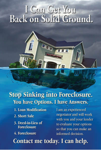 Short Sale Postcards Foreclosure Postcards Real Estate