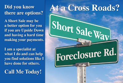 Short sale postcards foreclosure postcards real estate for Short sale marketing letter